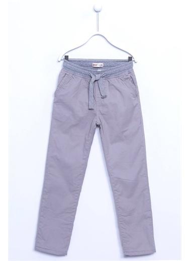 Silversun Kids Bel Lastikli Büzmeli Cepli Kot Pantolon Pc 310380 Gri